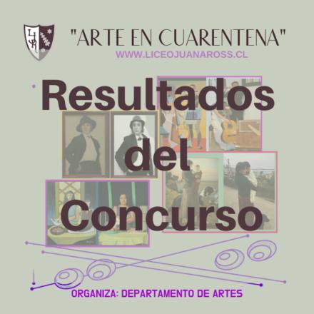 """Resultados del Concurso """"Arte en Cuarentena"""""""