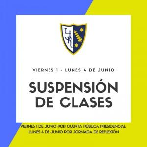 Suspensión de Clases LJR