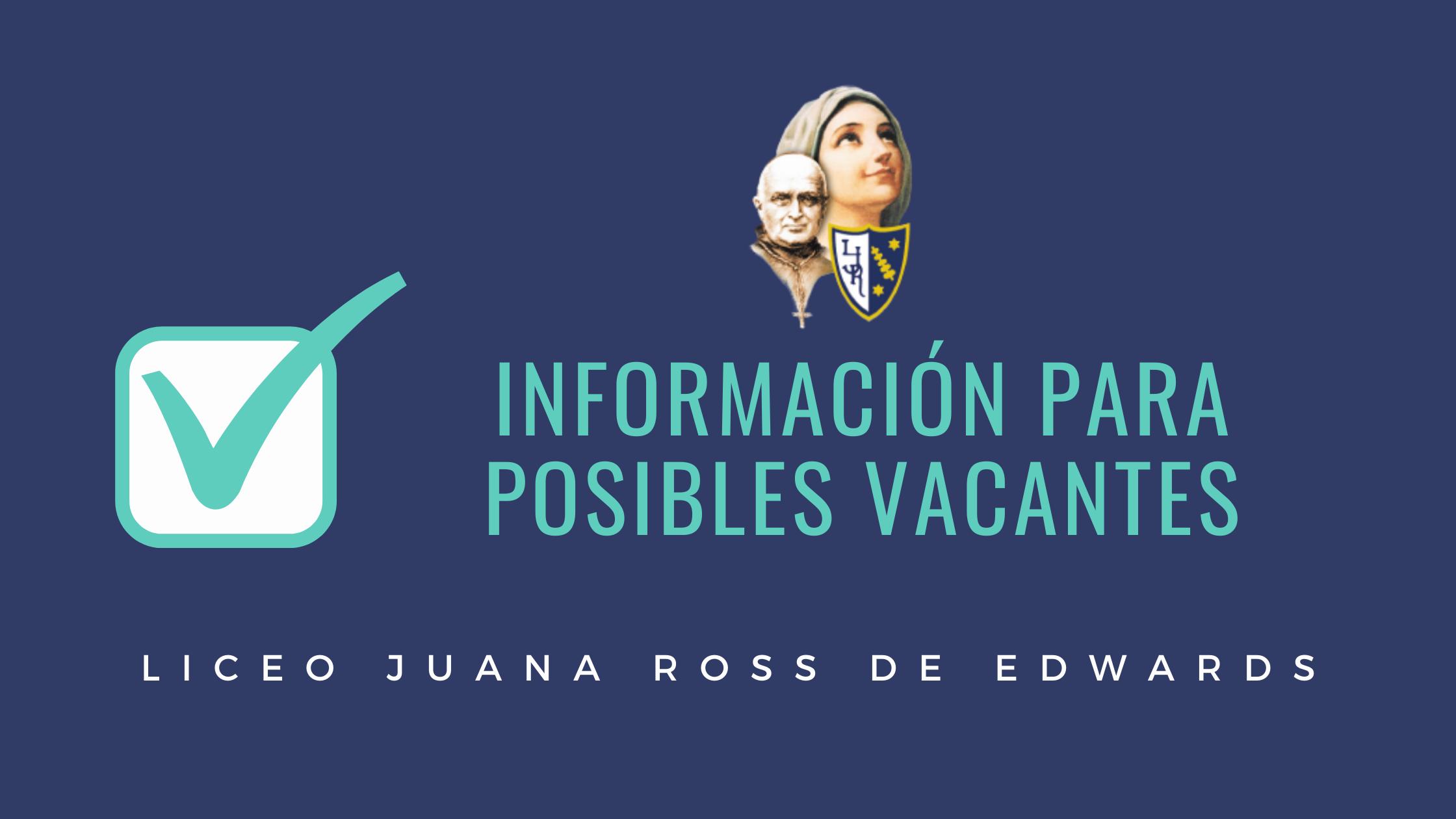 Banner Información a posibles vacantes – LJR