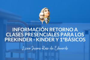 Información Retorno 1ºBásicos – LJR
