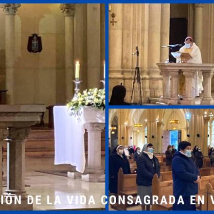 Iglesia de Valparaíso celebró la Vida Consagrada